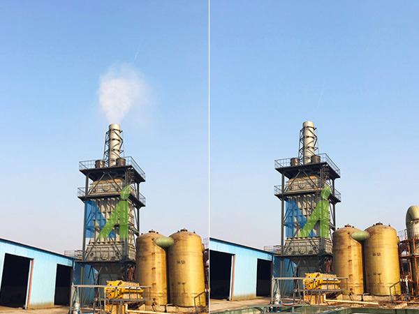 河北威美硫酸尾气湿式电除雾器运行案例